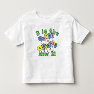Three is the New Two! Toddler T-shirt