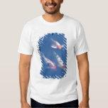 Three Japanese koi fish in pond T-Shirt