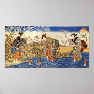 Three Japanese Women Posters