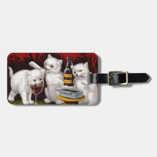Three Jolly Kittens Bag Tags