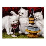 Three Jolly Kittens Postcard