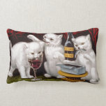 Three Jolly Kittens Throw Pillows