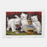 Three Jolly Kittens Towel