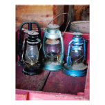 Three Kerosene Lamps Invites