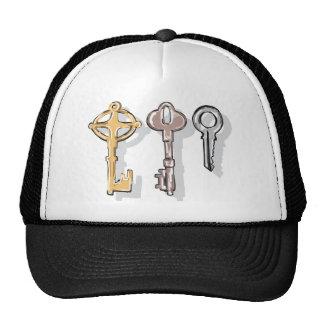 Three Keys Sketch Trucker Hat