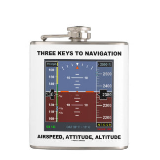 Three Keys To Navigation Airspeed Attitude EFIS Hip Flask