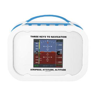 Three Keys To Navigation Airspeed Attitude EFIS Lunch Box