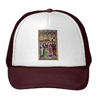 Three King Altar Inside The Left Wing: St. Ursula Mesh Hat