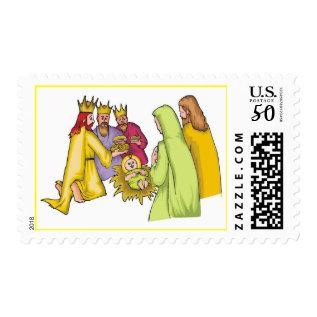 Three Kings Adoration 2017 Holiday Postage Usps at Zazzle
