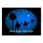 Three Kings Bethlehem  Star Christian Christmas Greeting Cards