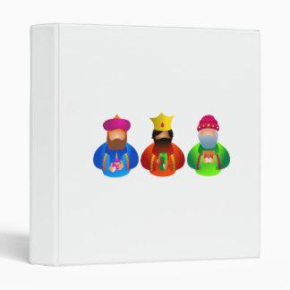 Three Kings Vinyl Binder