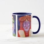 Three Kings Christmas Art Mug