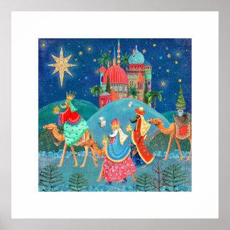Three kings | Christmas Holiday | Poster