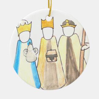 Three Kings Christmas Ornament