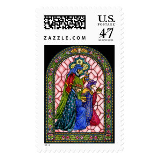 Three Kings Christmas Postage by Peggy Toole