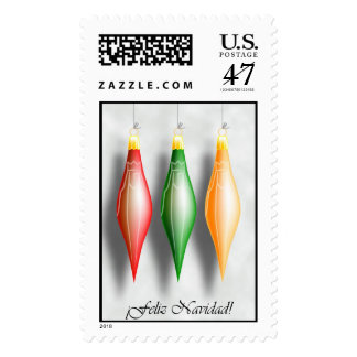 Three Kings Christmas stamp Spanish