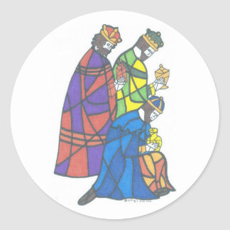 Three Kings Classic Round Sticker