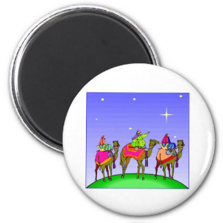 Three Kings Follow Star Magnet