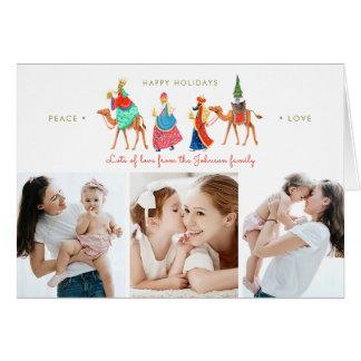 Three Kings   Holiday   Folded Greetings Cards