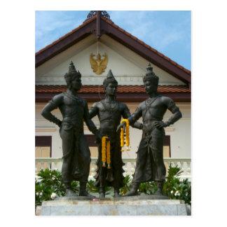 Three Kings Monument Post Card