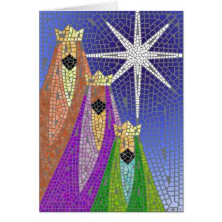 Three Kings Mosaic Cards