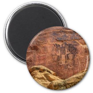 Three Kings Petroglyph - Mcconkie Ranch - Utah Magnet