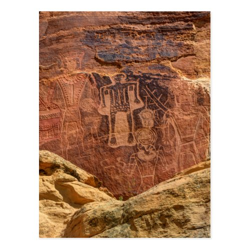 Three Kings Petroglyph _ Mcconkie Ranch _ Utah Postcard
