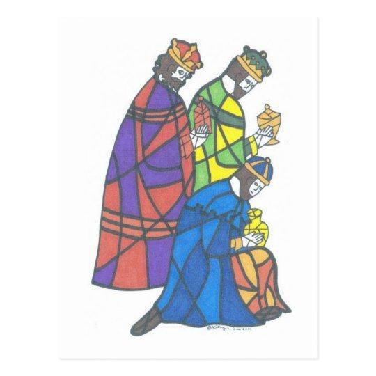 Three Kings Postcard