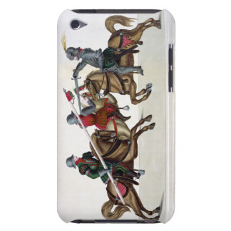 Three knights at a tournament, plate from 'A Histo iPod Touch Case