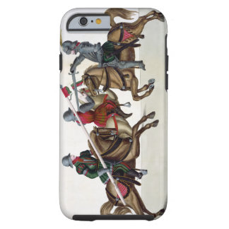 Three knights at a tournament, plate from 'A Histo Tough iPhone 6 Case
