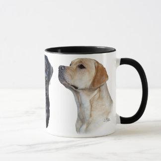 Three Labrador Retrievers Mug