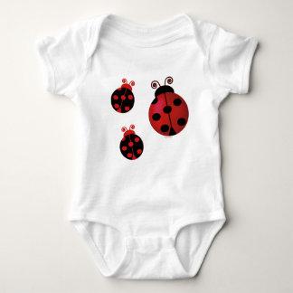 Three Ladybugs Tee Shirt