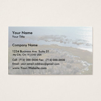 Three Lakes Business Card