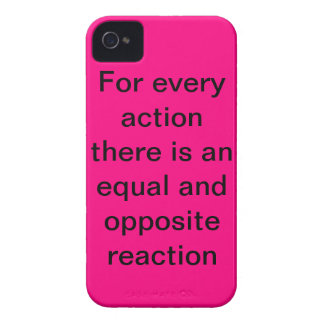 three laws of motion Case-Mate iPhone 4 case