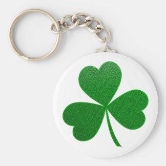 Three Leaf Clover -holiday- Keychain
