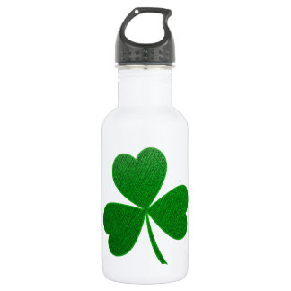 Three Leaf Clover -holiday- Stainless Steel Water Bottle