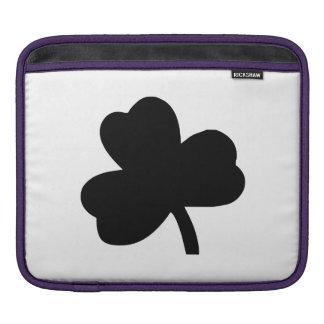 Three-Leaf Clover iPad Sleeves