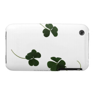Three-leaf clover iPhone 3 cover