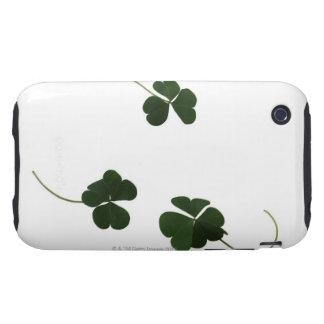 Three-leaf clover iPhone 3 tough case