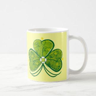 Three Leaf Clover - mug