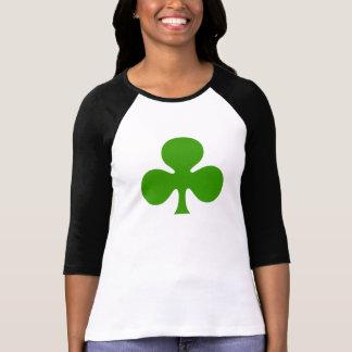 Three Leaf Clover, Shamrock Woman's Shirt