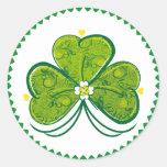Three Leaf Clover - sticker