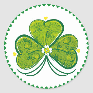 Three Leaf Clover - sticker