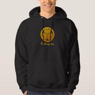 Three leaf mallows hoodie