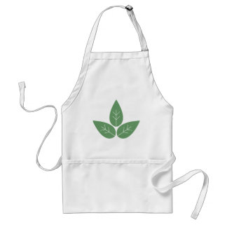 Three Leaves Adult Apron
