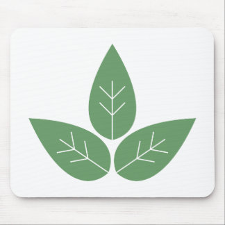 Three Leaves Mouse Pad