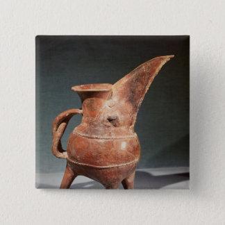 Three-legged 'Kuei' jug, from Weifang, Button