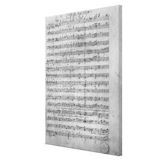 Three Lieder Canvas Print