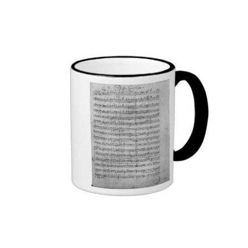 Three Lieder Coffee Mug