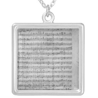 Three Lieder Silver Plated Necklace